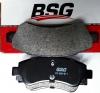 Колодка тормоза задние Peugeot Boxer-3 R15,R16 BSG