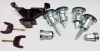 Комплект личинок замков (без ЦЗ) Форд SMC (двери передние, сдвиж+зад, бензобак, капот, зажигание)